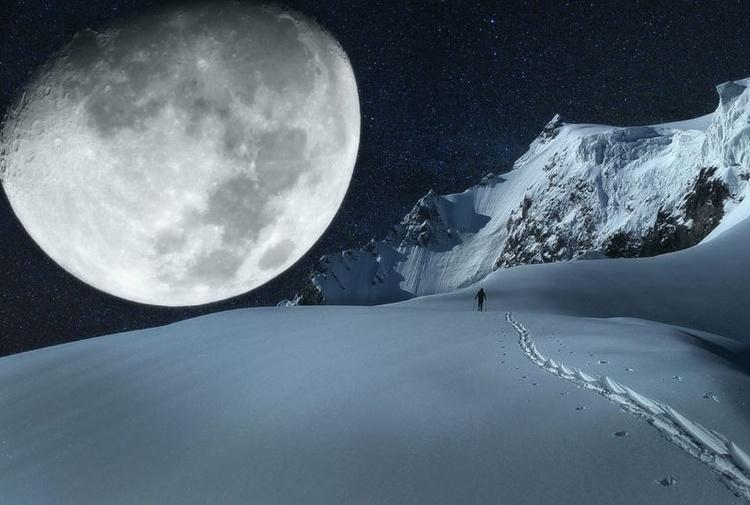 Nel weekend lo spettacolo della Luna piena della Neve - Tiscali Ambiente