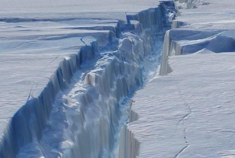 Stiamo perdendo le piattaforme di ghiaccio dell'Antartide